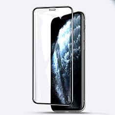 Schutzfolie Full Coverage Displayschutzfolie Panzerfolie Gehärtetes Glas Glasfolie Skins zum Aufkleben Panzerglas F06 für Apple iPhone 11 Pro Max Schwarz