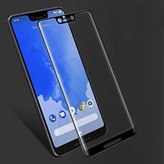 Schutzfolie Full Coverage Displayschutzfolie Panzerfolie Gehärtetes Glas Glasfolie Skins zum Aufkleben Panzerglas F06 für Google Pixel 3 XL Schwarz
