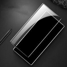 Schutzfolie Full Coverage Displayschutzfolie Panzerfolie Gehärtetes Glas Glasfolie Skins zum Aufkleben Panzerglas F06 für Samsung Galaxy S20 5G Schwarz