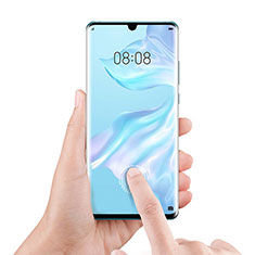 Schutzfolie Full Coverage Displayschutzfolie Panzerfolie Gehärtetes Glas Glasfolie Skins zum Aufkleben Panzerglas F06 für Xiaomi Mi Note 10 Schwarz