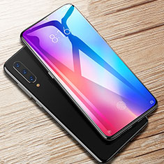 Schutzfolie Full Coverage Displayschutzfolie Panzerfolie Gehärtetes Glas Glasfolie Skins zum Aufkleben Panzerglas F08 für Xiaomi Mi A3 Lite Schwarz