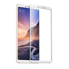 Schutzfolie Full Coverage Displayschutzfolie Panzerfolie Gehärtetes Glas Glasfolie Skins zum Aufkleben Panzerglas F09 für Xiaomi Mi Mix 3 Weiß