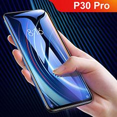 Schutzfolie Full Coverage Displayschutzfolie Panzerfolie Gehärtetes Glas Glasfolie Skins zum Aufkleben Panzerglas F10 für Huawei P30 Pro Schwarz
