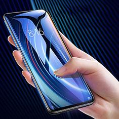Schutzfolie Full Coverage Displayschutzfolie Panzerfolie Gehärtetes Glas Glasfolie Skins zum Aufkleben Panzerglas F10 für Xiaomi Mi Note 10 Pro Schwarz