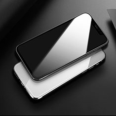 Schutzfolie Full Coverage Displayschutzfolie Panzerfolie Gehärtetes Glas Glasfolie Skins zum Aufkleben Panzerglas für Apple iPhone 11 Schwarz