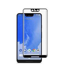 Schutzfolie Full Coverage Displayschutzfolie Panzerfolie Gehärtetes Glas Glasfolie Skins zum Aufkleben Panzerglas für Google Pixel 3 XL Schwarz