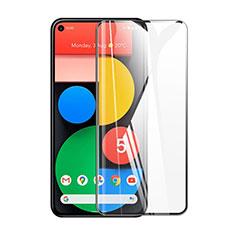 Schutzfolie Full Coverage Displayschutzfolie Panzerfolie Gehärtetes Glas Glasfolie Skins zum Aufkleben Panzerglas für Google Pixel 5 Schwarz