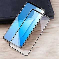 Schutzfolie Full Coverage Displayschutzfolie Panzerfolie Gehärtetes Glas Glasfolie Skins zum Aufkleben Panzerglas für Huawei Honor Play4 5G Schwarz