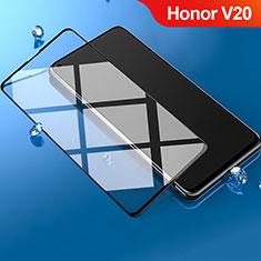 Schutzfolie Full Coverage Displayschutzfolie Panzerfolie Gehärtetes Glas Glasfolie Skins zum Aufkleben Panzerglas für Huawei Honor View 20 Schwarz