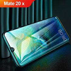 Schutzfolie Full Coverage Displayschutzfolie Panzerfolie Gehärtetes Glas Glasfolie Skins zum Aufkleben Panzerglas für Huawei Mate 20 X 5G Schwarz