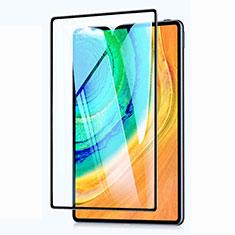 Schutzfolie Full Coverage Displayschutzfolie Panzerfolie Gehärtetes Glas Glasfolie Skins zum Aufkleben Panzerglas für Huawei MatePad Pro 5G 10.8 Schwarz