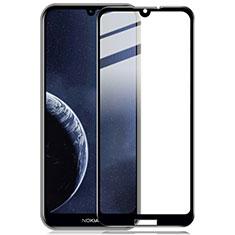 Schutzfolie Full Coverage Displayschutzfolie Panzerfolie Gehärtetes Glas Glasfolie Skins zum Aufkleben Panzerglas für Nokia 4.2 Schwarz