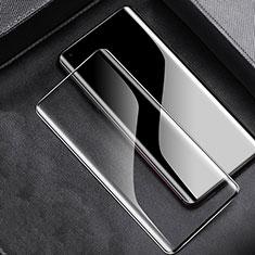 Schutzfolie Full Coverage Displayschutzfolie Panzerfolie Gehärtetes Glas Glasfolie Skins zum Aufkleben Panzerglas für OnePlus 8 Schwarz