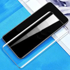 Schutzfolie Full Coverage Displayschutzfolie Panzerfolie Gehärtetes Glas Glasfolie Skins zum Aufkleben Panzerglas für Oppo Ace2 Schwarz