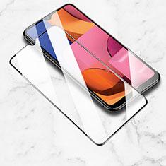 Schutzfolie Full Coverage Displayschutzfolie Panzerfolie Gehärtetes Glas Glasfolie Skins zum Aufkleben Panzerglas für Samsung Galaxy A20s Schwarz