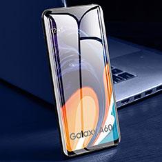 Schutzfolie Full Coverage Displayschutzfolie Panzerfolie Gehärtetes Glas Glasfolie Skins zum Aufkleben Panzerglas für Samsung Galaxy A60 Schwarz
