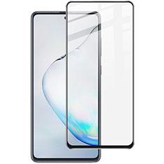 Schutzfolie Full Coverage Displayschutzfolie Panzerfolie Gehärtetes Glas Glasfolie Skins zum Aufkleben Panzerglas für Samsung Galaxy A81 Schwarz