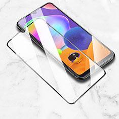 Schutzfolie Full Coverage Displayschutzfolie Panzerfolie Gehärtetes Glas Glasfolie Skins zum Aufkleben Panzerglas für Samsung Galaxy M30s Schwarz