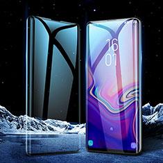 Schutzfolie Full Coverage Displayschutzfolie Panzerfolie Gehärtetes Glas Glasfolie Skins zum Aufkleben Panzerglas für Samsung Galaxy S10 5G Schwarz