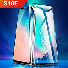 Schutzfolie Full Coverage Displayschutzfolie Panzerfolie Gehärtetes Glas Glasfolie Skins zum Aufkleben Panzerglas für Samsung Galaxy S10e Schwarz