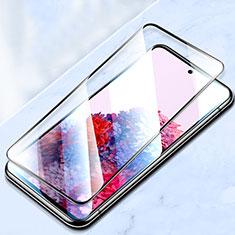 Schutzfolie Full Coverage Displayschutzfolie Panzerfolie Gehärtetes Glas Glasfolie Skins zum Aufkleben Panzerglas für Samsung Galaxy S20 FE 5G Schwarz