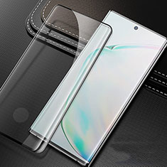 Schutzfolie Full Coverage Displayschutzfolie Panzerfolie Gehärtetes Glas Glasfolie Skins zum Aufkleben Panzerglas für Samsung Galaxy S20 Plus 5G Schwarz