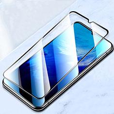 Schutzfolie Full Coverage Displayschutzfolie Panzerfolie Gehärtetes Glas Glasfolie Skins zum Aufkleben Panzerglas für Vivo X50e 5G Schwarz