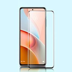 Schutzfolie Full Coverage Displayschutzfolie Panzerfolie Gehärtetes Glas Glasfolie Skins zum Aufkleben Panzerglas für Xiaomi Mi 10T Lite 5G Schwarz