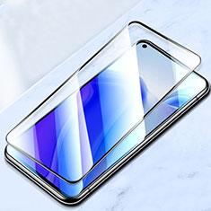 Schutzfolie Full Coverage Displayschutzfolie Panzerfolie Gehärtetes Glas Glasfolie Skins zum Aufkleben Panzerglas für Xiaomi Mi 10T Pro 5G Schwarz