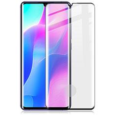 Schutzfolie Full Coverage Displayschutzfolie Panzerfolie Gehärtetes Glas Glasfolie Skins zum Aufkleben Panzerglas für Xiaomi Mi Note 10 Lite Schwarz