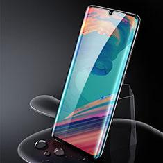Schutzfolie Full Coverage Displayschutzfolie Panzerfolie Gehärtetes Glas Glasfolie Skins zum Aufkleben Panzerglas für Xiaomi Mi Note 10 Schwarz