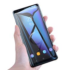 Schutzfolie Full Coverage Displayschutzfolie Panzerfolie Skins zum Aufkleben Gehärtetes Glas Glasfolie Anti Blue Ray F02 für Samsung Galaxy Note 9 Weiß