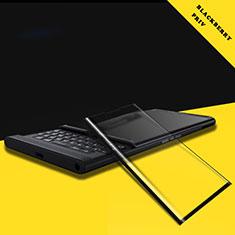 Schutzfolie Full Coverage Displayschutzfolie Panzerfolie Skins zum Aufkleben Gehärtetes Glas Glasfolie F02 für Blackberry Priv Schwarz
