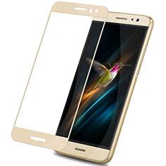 Schutzfolie Full Coverage Displayschutzfolie Panzerfolie Skins zum Aufkleben Gehärtetes Glas Glasfolie F02 für Huawei G9 Plus Gold