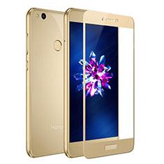 Schutzfolie Full Coverage Displayschutzfolie Panzerfolie Skins zum Aufkleben Gehärtetes Glas Glasfolie F02 für Huawei Honor 8 Lite Gold