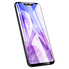 Schutzfolie Full Coverage Displayschutzfolie Panzerfolie Skins zum Aufkleben Gehärtetes Glas Glasfolie F02 für Huawei Nova 3 Schwarz