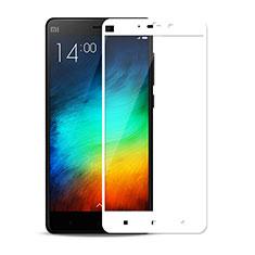 Schutzfolie Full Coverage Displayschutzfolie Panzerfolie Skins zum Aufkleben Gehärtetes Glas Glasfolie F02 für Xiaomi Mi Note Weiß