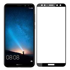 Schutzfolie Full Coverage Displayschutzfolie Panzerfolie Skins zum Aufkleben Gehärtetes Glas Glasfolie F03 für Huawei G10 Schwarz