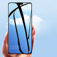 Schutzfolie Full Coverage Displayschutzfolie Panzerfolie Skins zum Aufkleben Gehärtetes Glas Glasfolie F03 für Huawei Honor 8X Schwarz