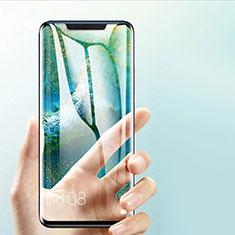 Schutzfolie Full Coverage Displayschutzfolie Panzerfolie Skins zum Aufkleben Gehärtetes Glas Glasfolie F03 für Huawei Mate 20 Pro Schwarz