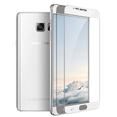 Schutzfolie Full Coverage Displayschutzfolie Panzerfolie Skins zum Aufkleben Gehärtetes Glas Glasfolie F03 für Samsung Galaxy Note 5 N9200 N920 N920F Weiß