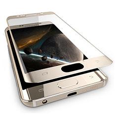 Schutzfolie Full Coverage Displayschutzfolie Panzerfolie Skins zum Aufkleben Gehärtetes Glas Glasfolie F03 für Samsung Galaxy Note 7 Gold