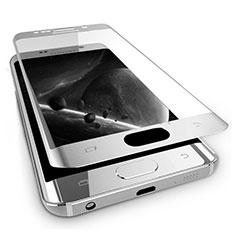 Schutzfolie Full Coverage Displayschutzfolie Panzerfolie Skins zum Aufkleben Gehärtetes Glas Glasfolie F03 für Samsung Galaxy Note 7 Weiß