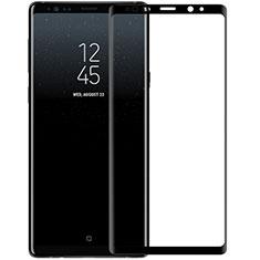 Schutzfolie Full Coverage Displayschutzfolie Panzerfolie Skins zum Aufkleben Gehärtetes Glas Glasfolie F03 für Samsung Galaxy Note 9 Schwarz