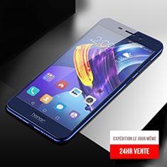 Schutzfolie Full Coverage Displayschutzfolie Panzerfolie Skins zum Aufkleben Gehärtetes Glas Glasfolie F04 für Huawei Honor 6C Pro Blau