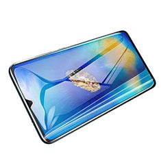 Schutzfolie Full Coverage Displayschutzfolie Panzerfolie Skins zum Aufkleben Gehärtetes Glas Glasfolie F04 für Huawei Mate 20 Schwarz