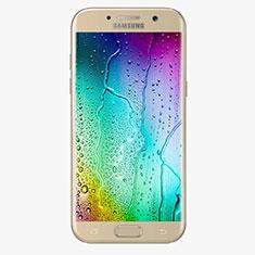 Schutzfolie Full Coverage Displayschutzfolie Panzerfolie Skins zum Aufkleben Gehärtetes Glas Glasfolie F04 für Samsung Galaxy A7 (2017) A720F Gold