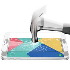 Schutzfolie Full Coverage Displayschutzfolie Panzerfolie Skins zum Aufkleben Gehärtetes Glas Glasfolie F04 für Samsung Galaxy A9 (2016) A9000 Weiß