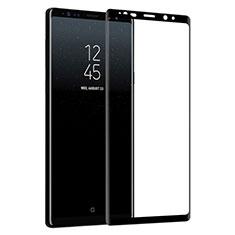 Schutzfolie Full Coverage Displayschutzfolie Panzerfolie Skins zum Aufkleben Gehärtetes Glas Glasfolie F04 für Samsung Galaxy Note 9 Schwarz