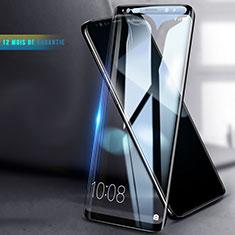 Schutzfolie Full Coverage Displayschutzfolie Panzerfolie Skins zum Aufkleben Gehärtetes Glas Glasfolie F04 für Samsung Galaxy S9 Schwarz